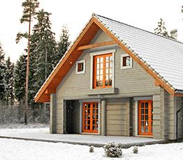 Строительство домов из лафета в Костроме